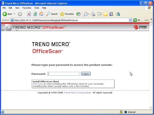 manually uninstall trend micro officescan